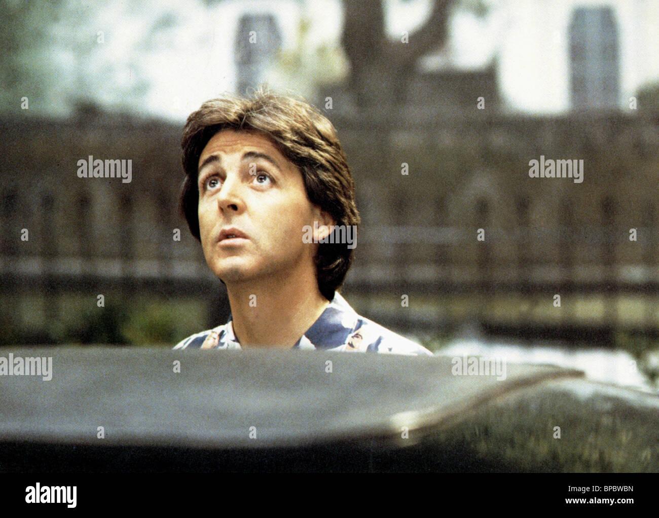 PAUL MCCARTNEY GIVE MY REGARDS TO BROAD STREET (1984) - Stock Image