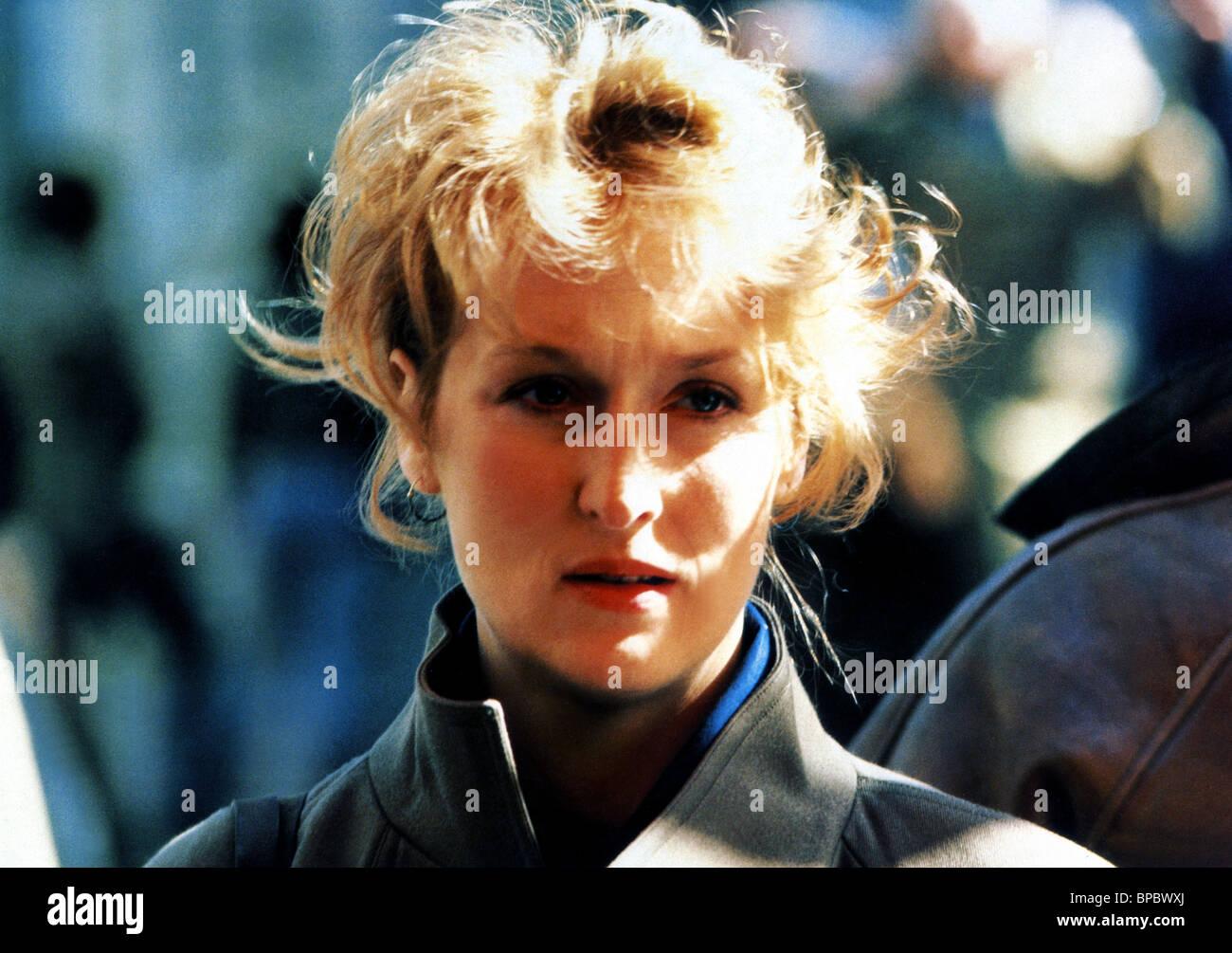 MERYL STREEP FALLING IN LOVE (1984) - Stock Image