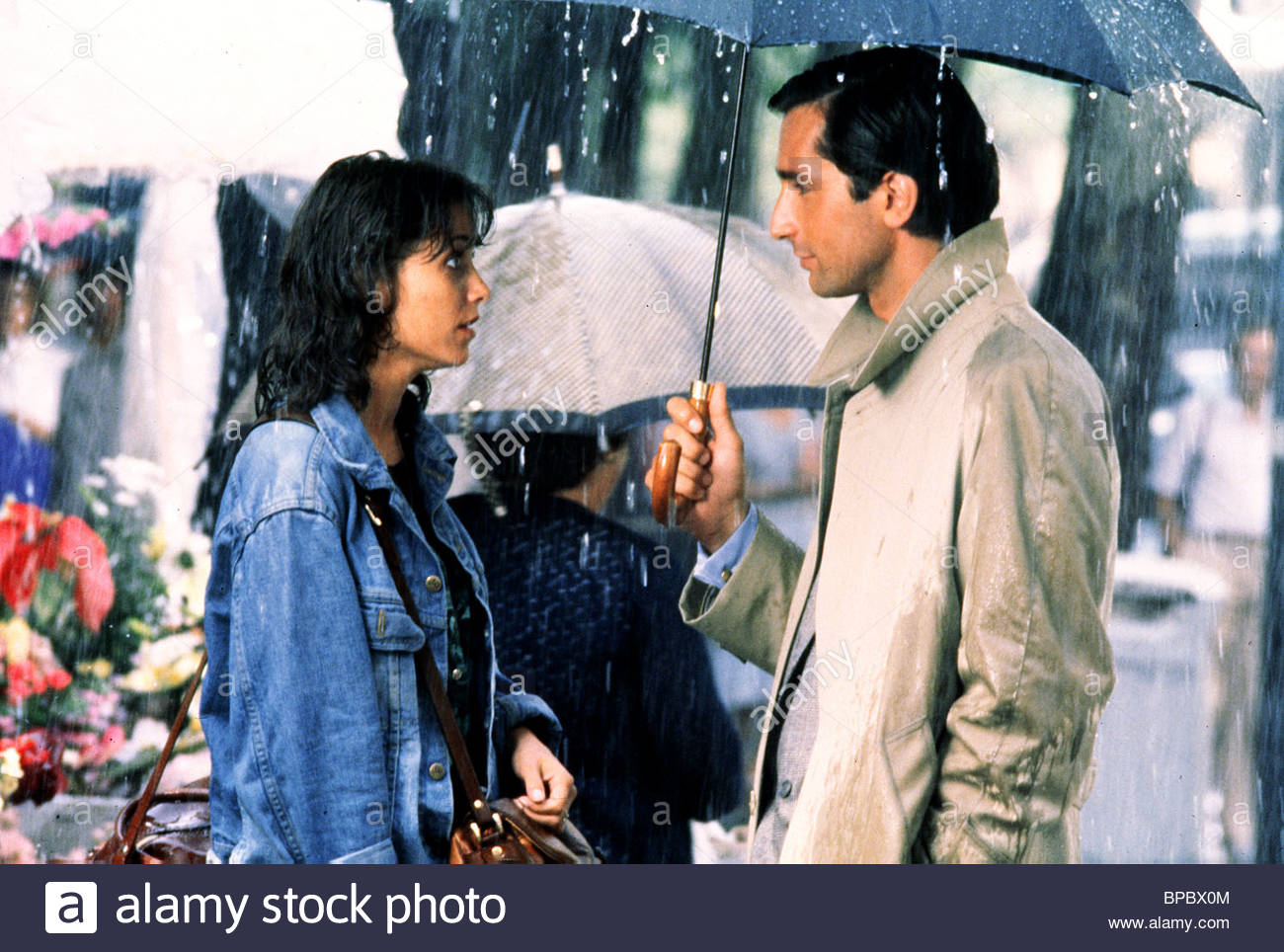 KAREN ALLEN, THIERRY LHERMITTE, UNTIL SEPTEMBER, 1984 - Stock Image
