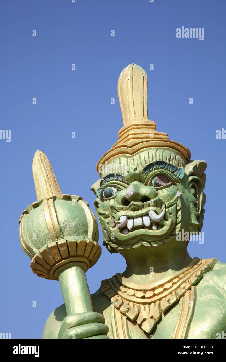Wat Hanchey at Kampong Cham, Cambodia - Stock Image