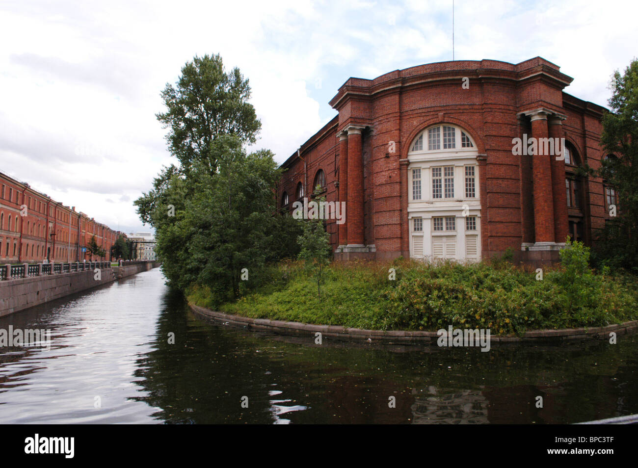 The New Holland architectural ensemble in St.Petersburg - Stock Image