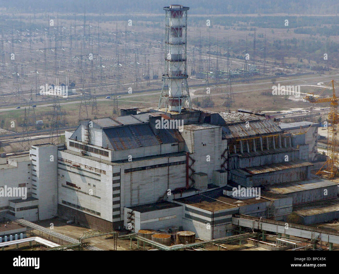Chernobyl 20th anniversary commemorations begin - Stock Image