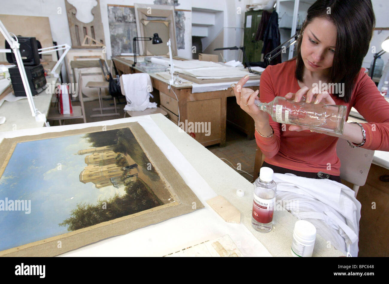 Suzdal Art and Restoration College - Stock Image