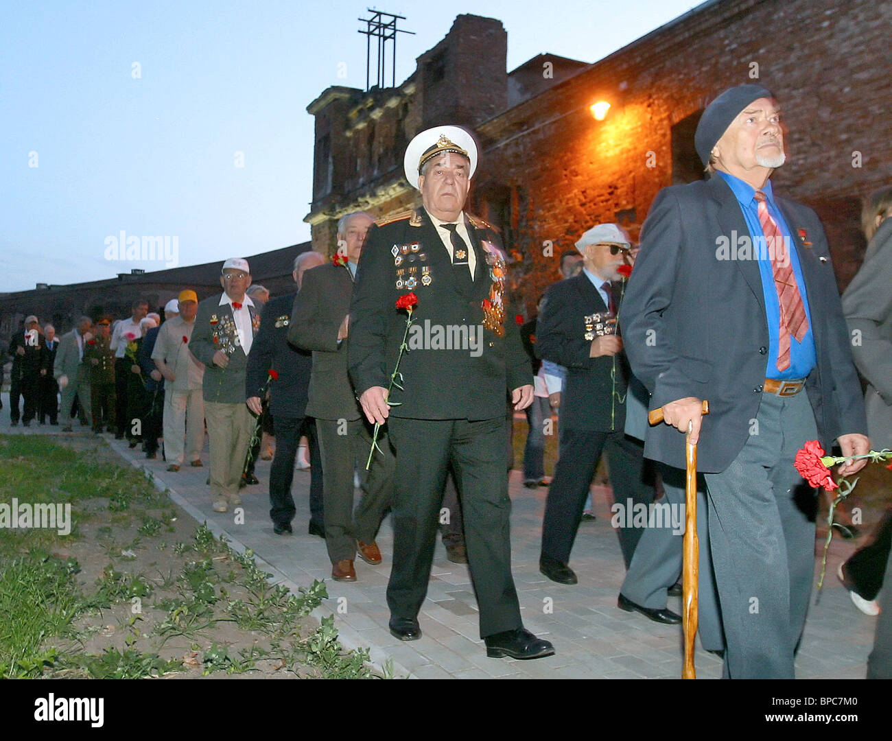 Russia remembers war dead of the Great Patriotic War of 1941-1945 on Memory and Sorrow Day - Stock Image