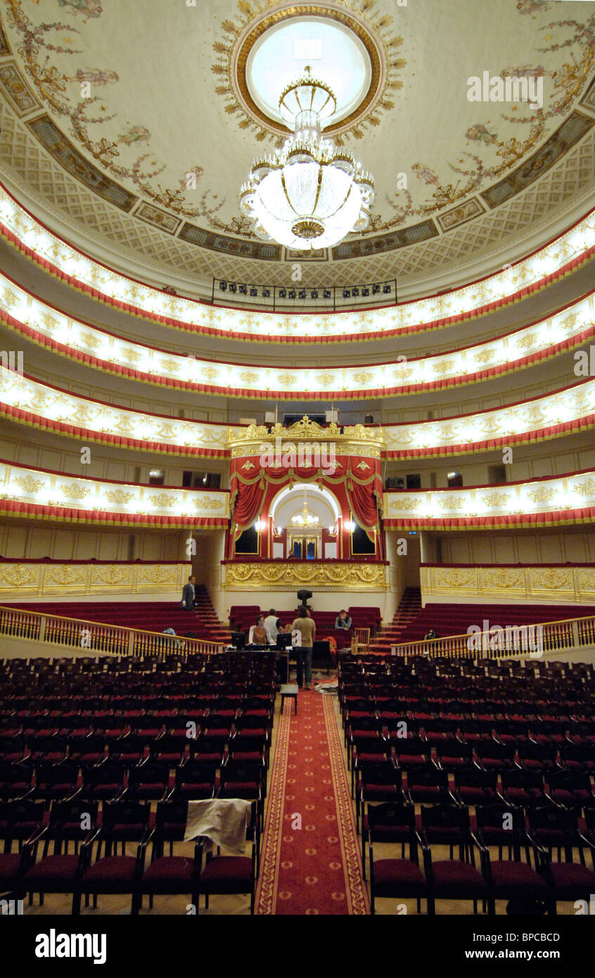 Newly-renovated Alexandrinsky Theater ready for 250th anniversary season - Stock Image