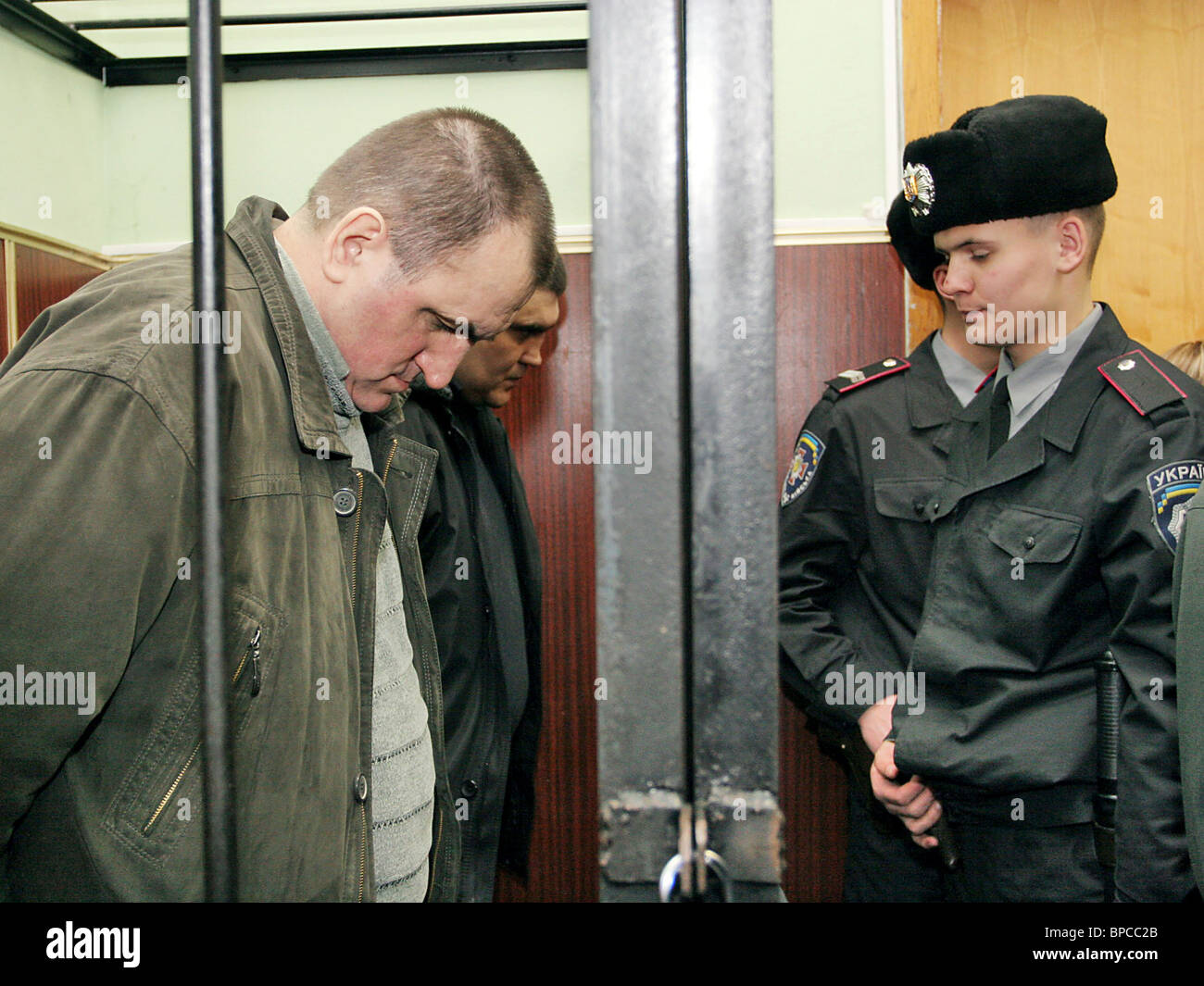Policemen to go on trial on charges of murdering journalist Georgiy Gongadze - Stock Image