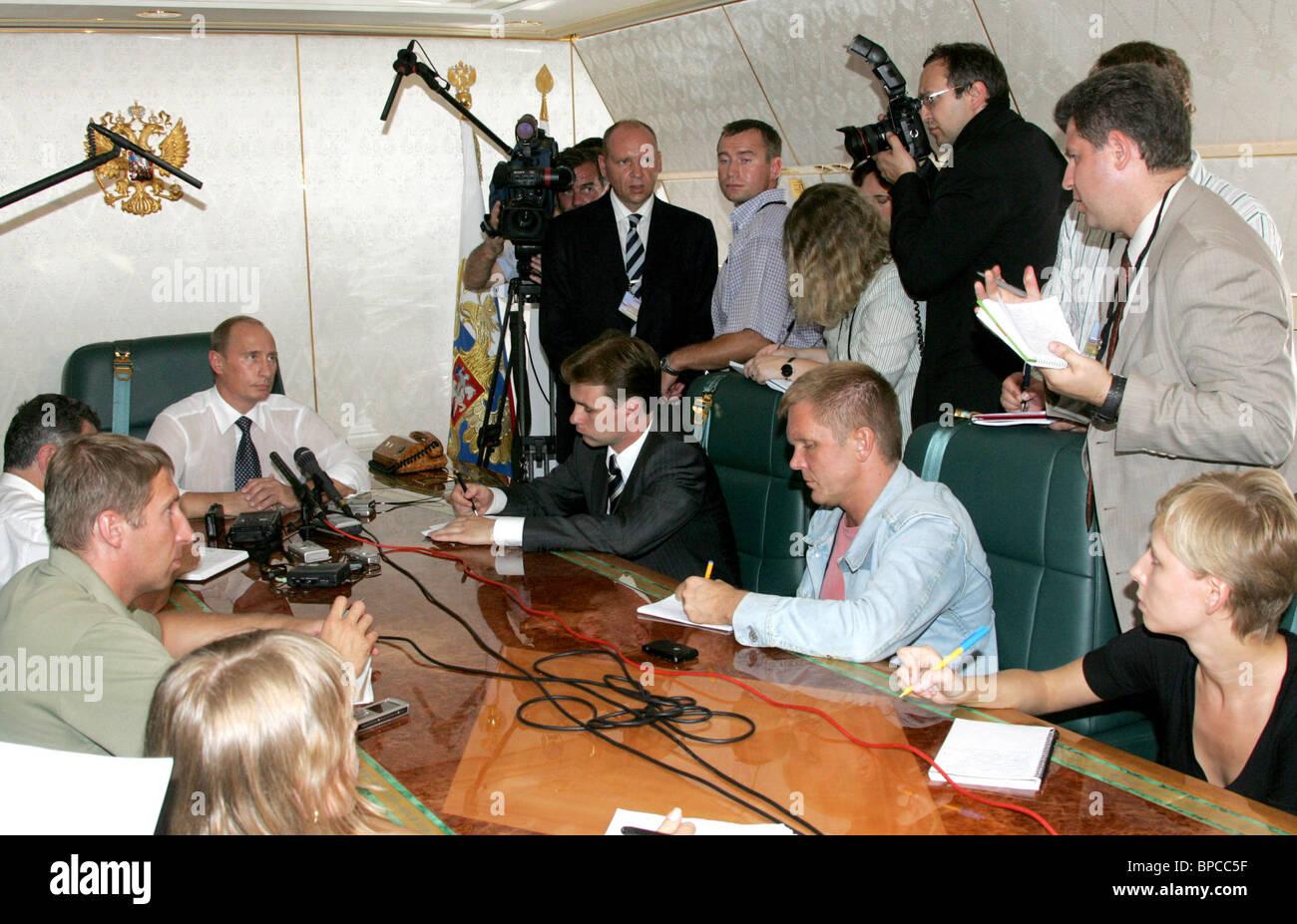 Russian President Vladimir Putin visits Kingdom of Morocco - Stock Image