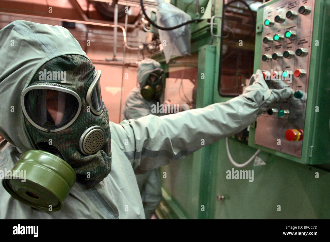 First construction stage completed at chemical weapons destruction facility in Kirov Region - Stock Image