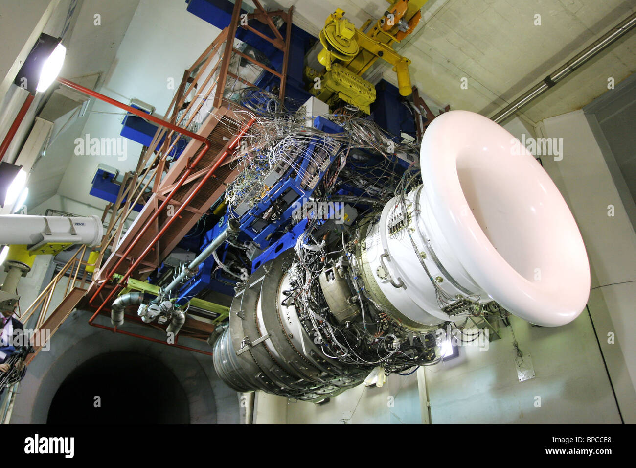 NPO Saturn produces SaM-146 engine for Russian Regional Jet (RRJ) - Stock Image