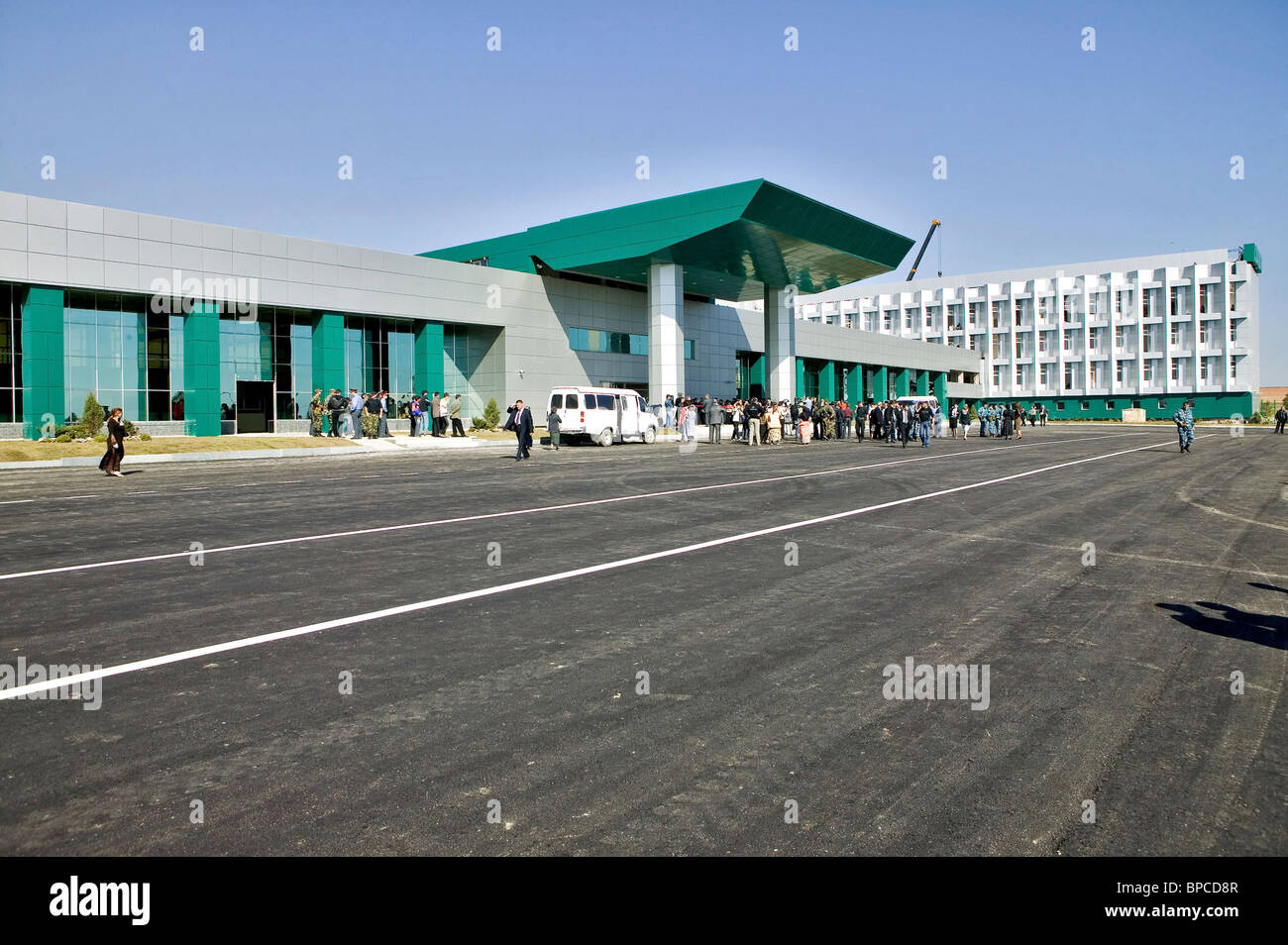 Grozny Airport reopens after renovation - Stock Image