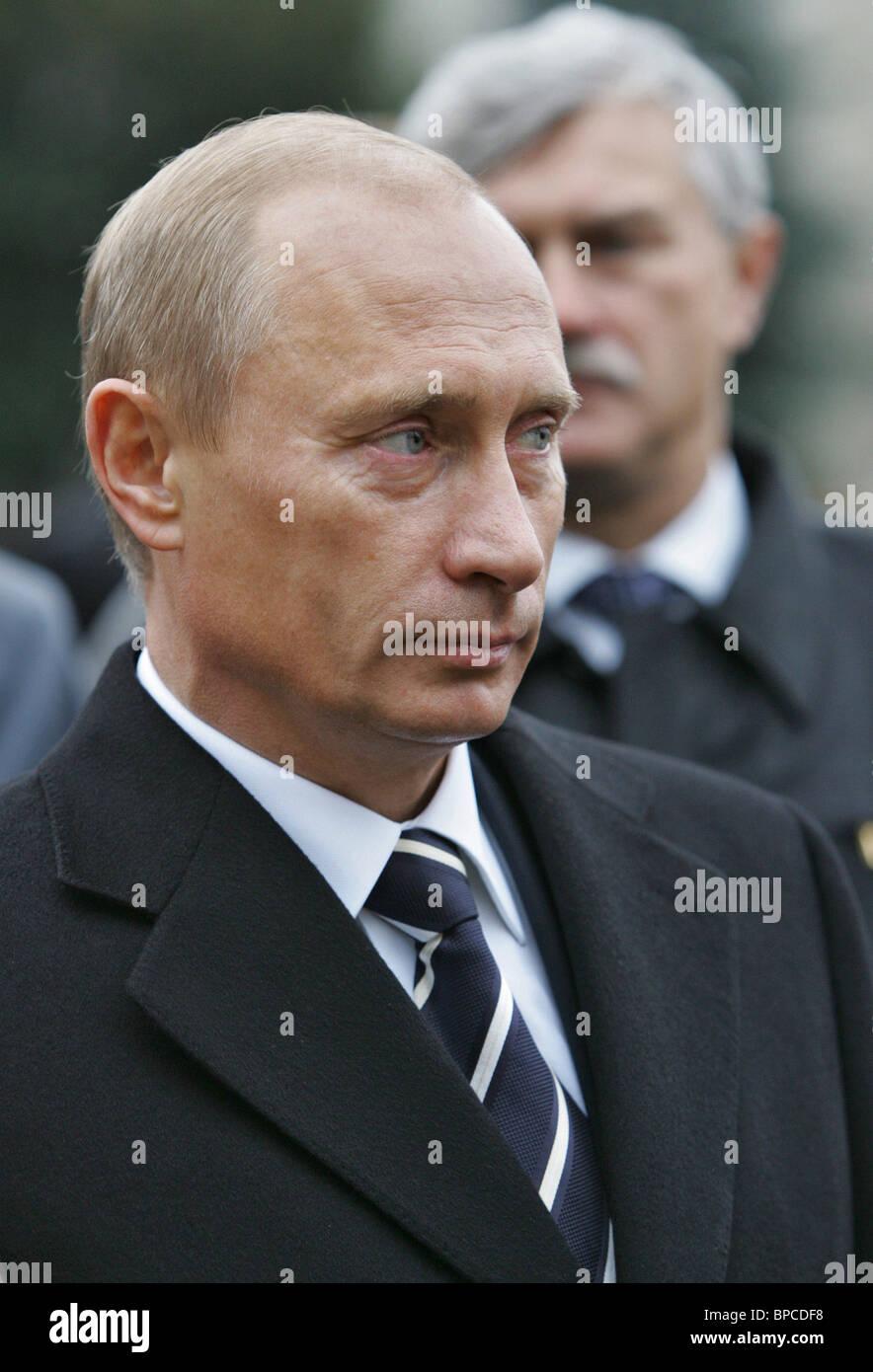 President Vladimir Putin arrives in Yaroslavl for working visit - Stock Image