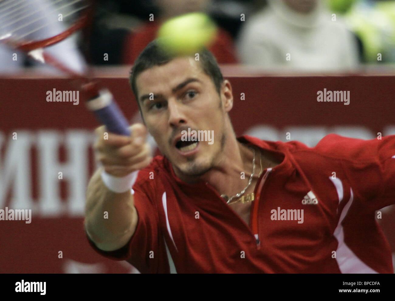 Kremlin Cup tennis tournament 1/4 final - Stock Image