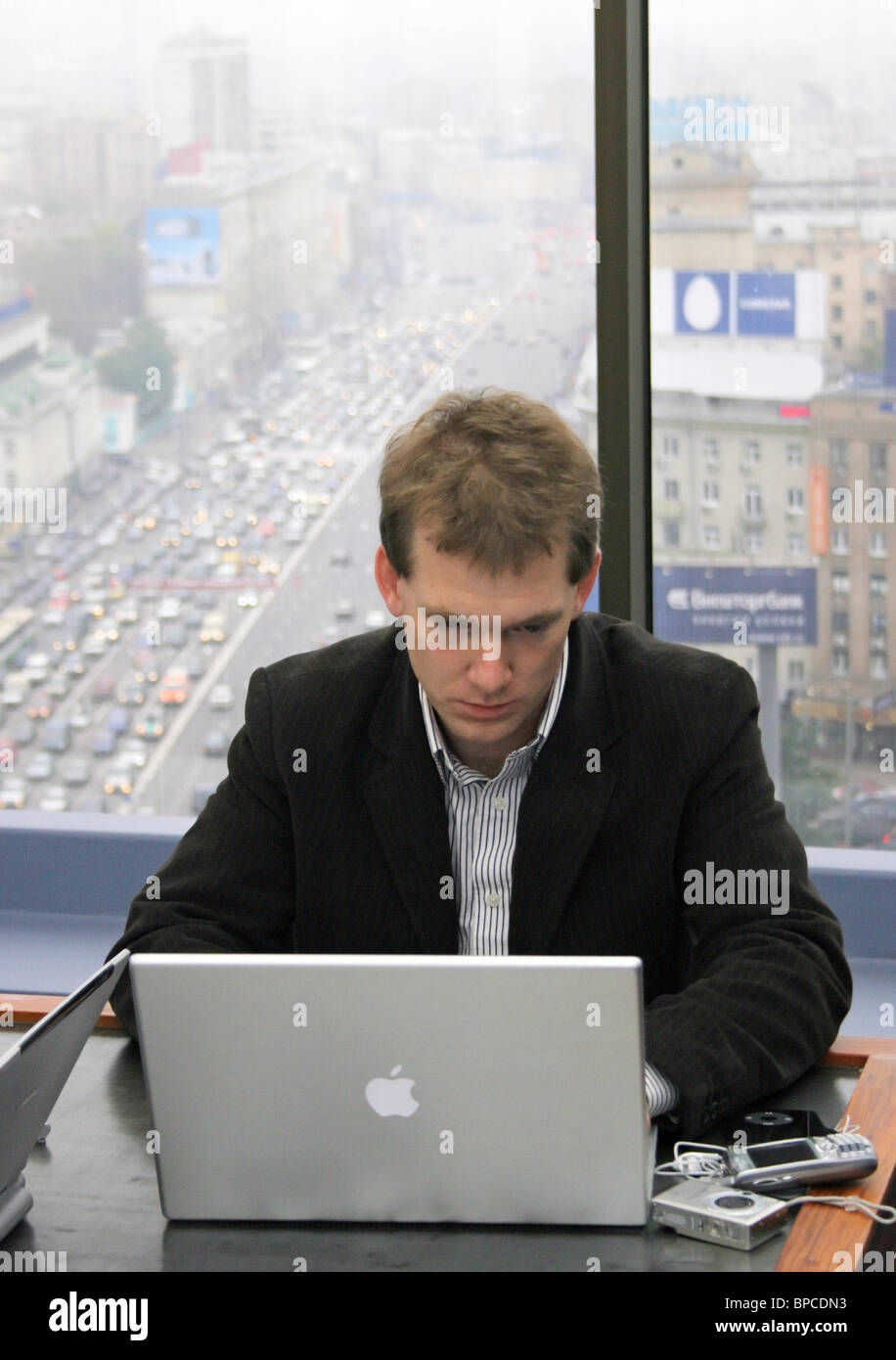 Russia October 20 Livejournal Founder Brad Fitzpatrick Stock