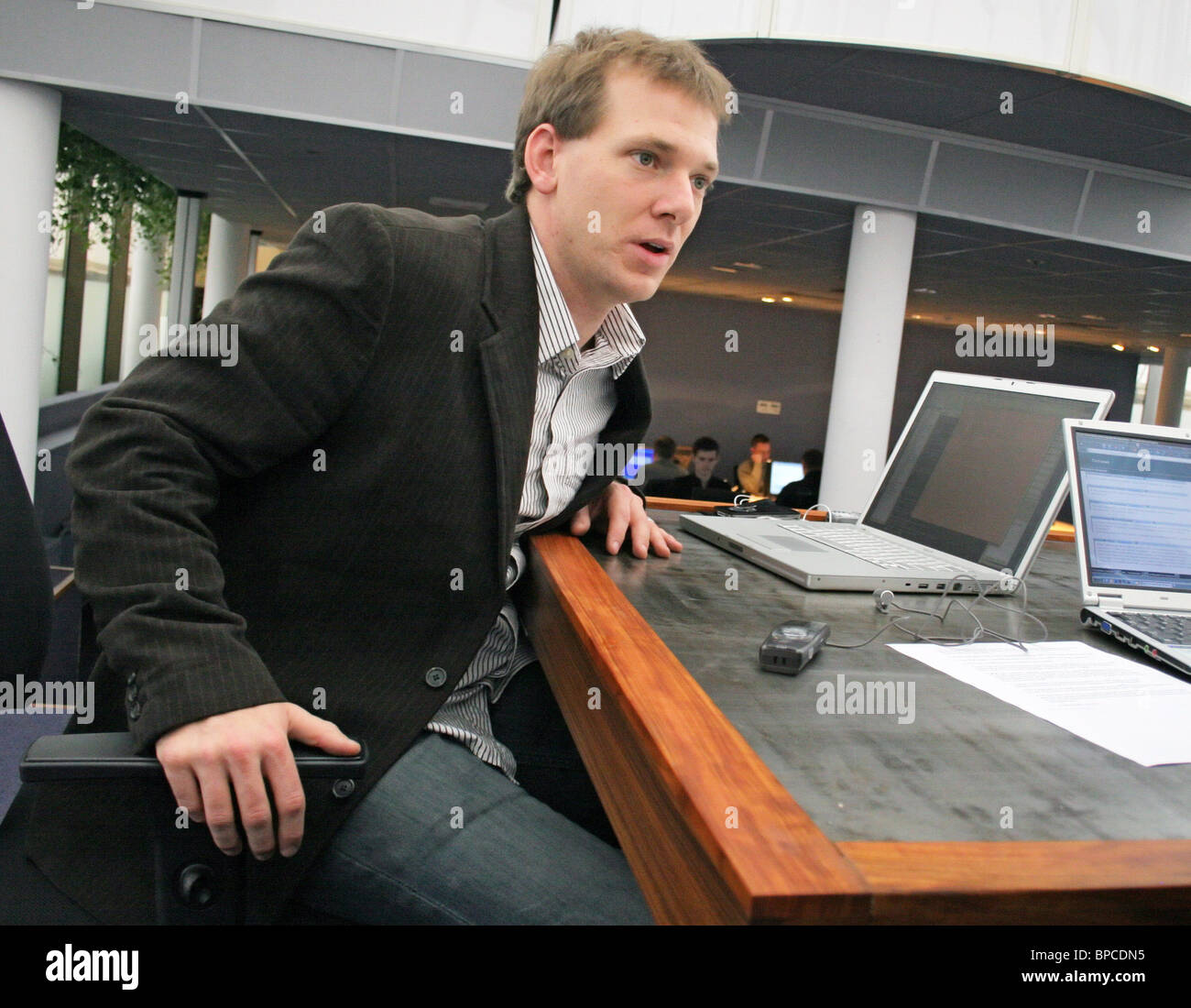 Russia October 20 Livejournal Founder Brad Fitzpatrick Stock Photos
