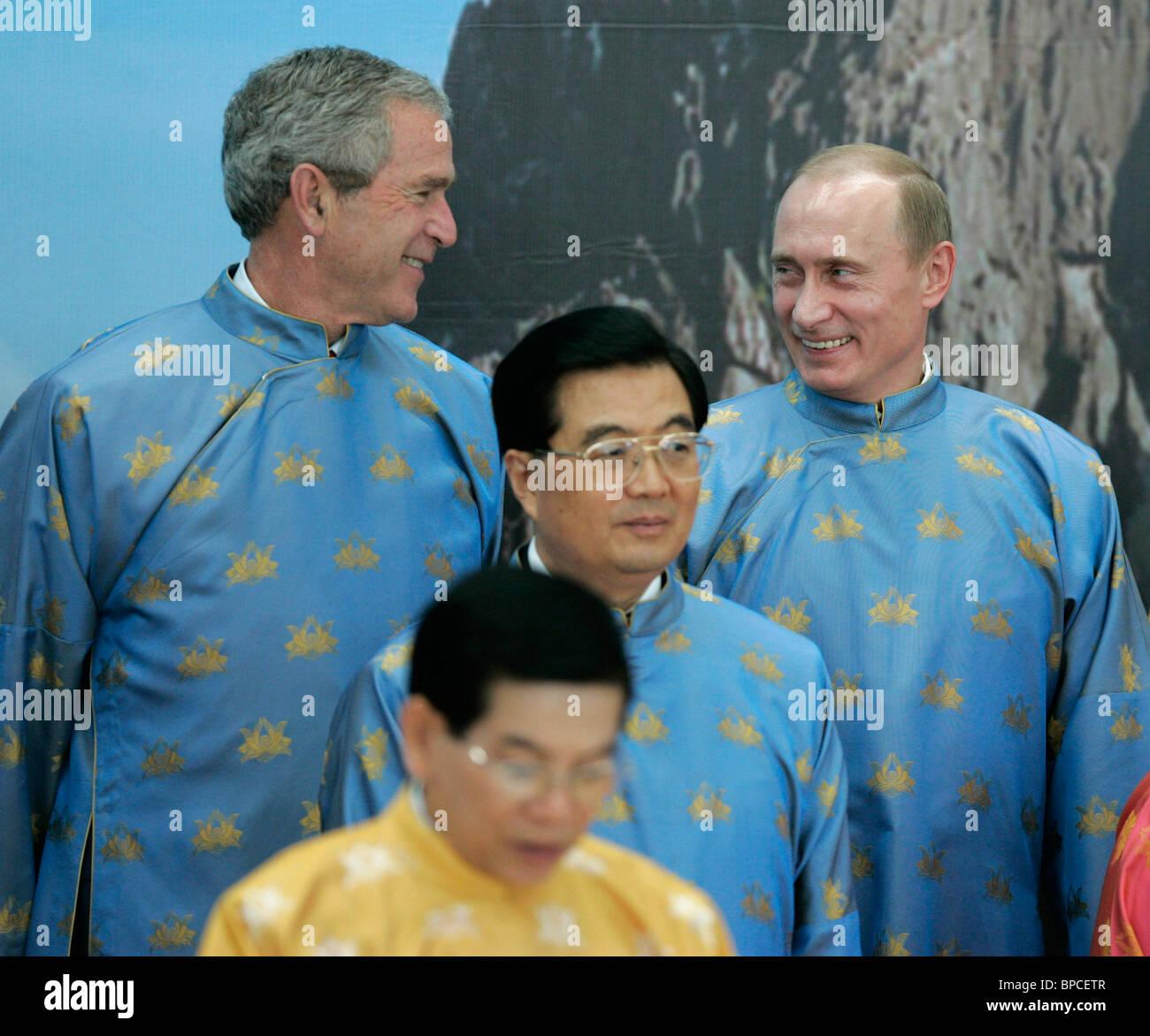 APEC summit in Hanoi: Day 2 - Stock Image