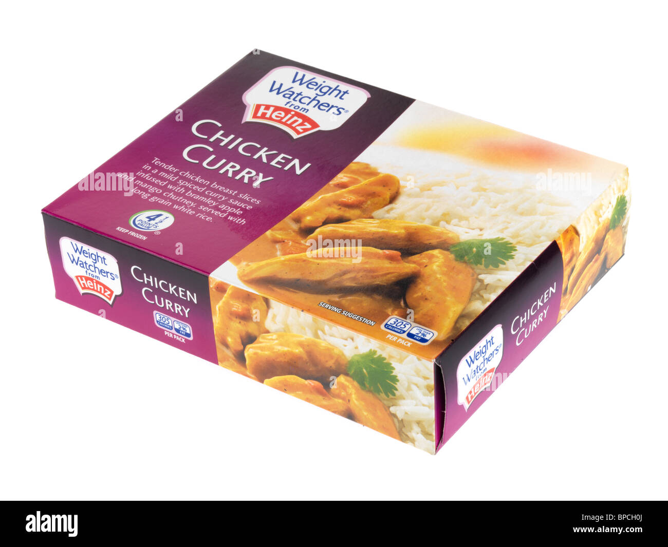 Chicken Curry - Stock Image