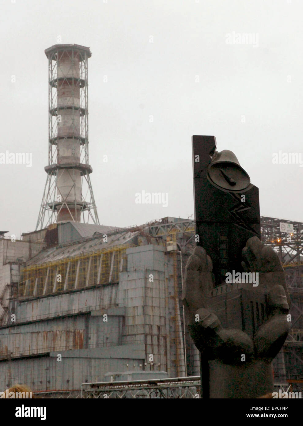 Nuclear fuel removed from Chernobyl Nuclear Power Plant reactor #1 - Stock Image
