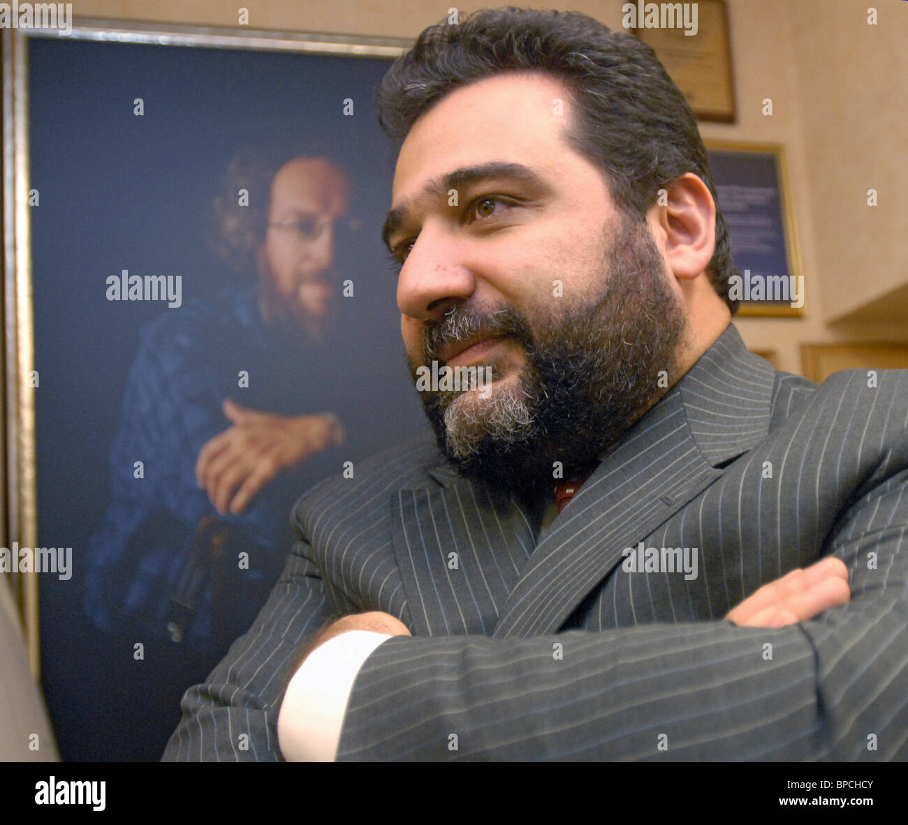 Board Chairman of the Troika Dialog Group of Companies Ruben Vardanyan - Stock Image