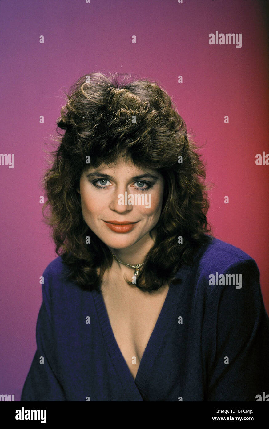 LINDA HAMILTON SECRET WEAPONS (1985) - Stock Image