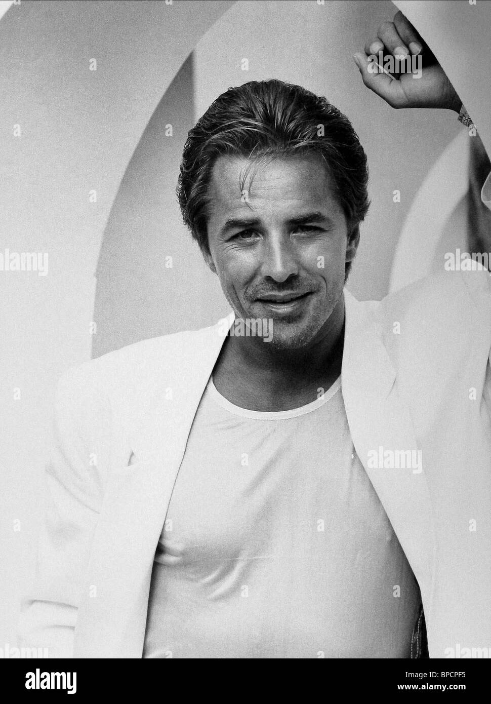don johnson miami vice stock photo alamy