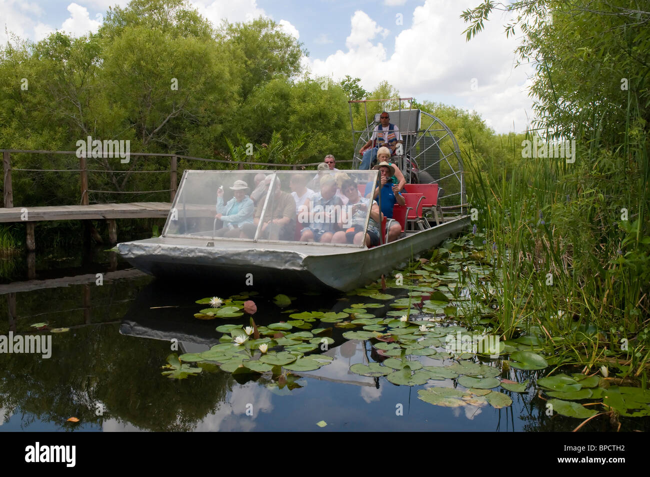 Airboat Ride through the Everglades of Florida in the USA
