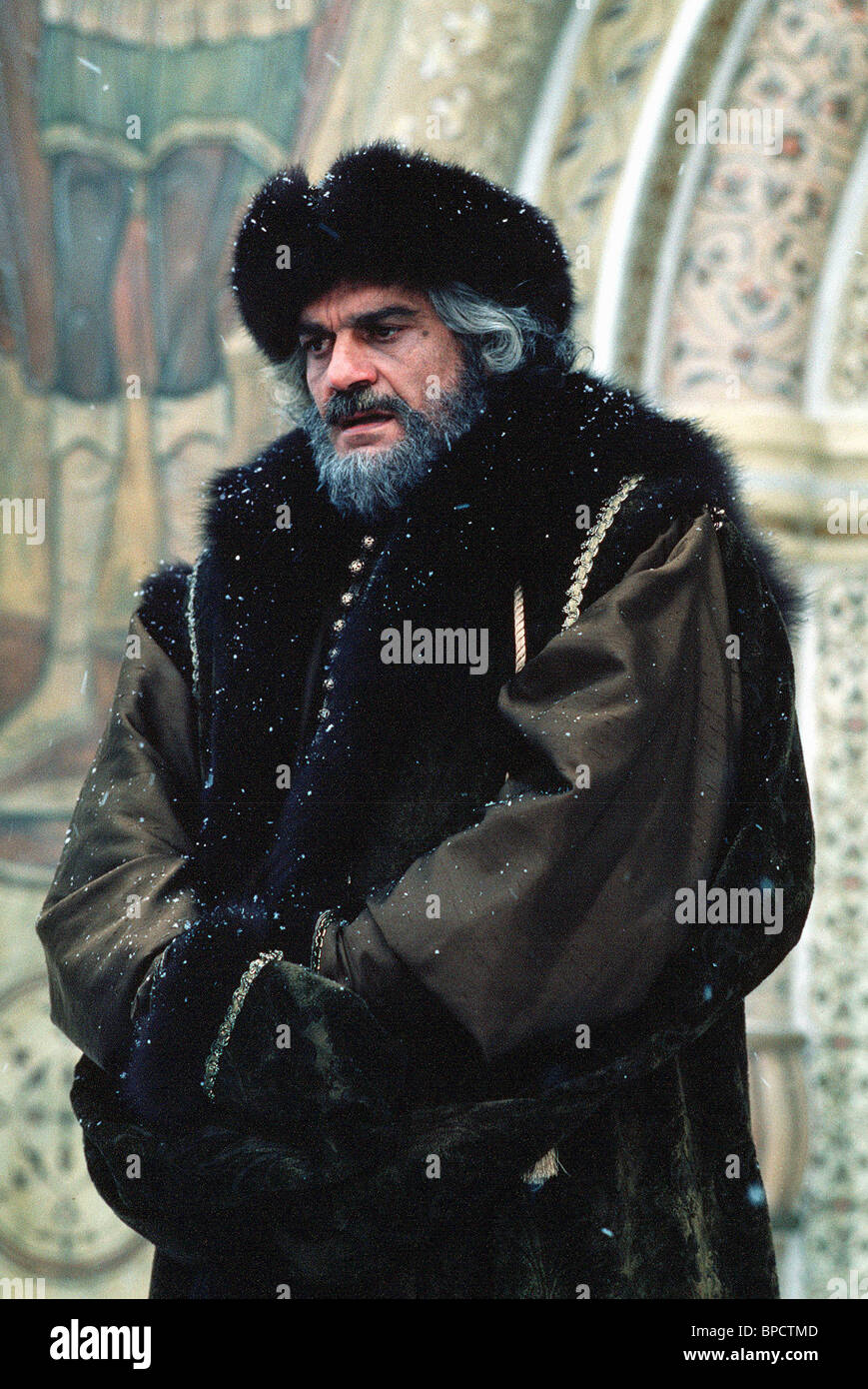OMAR SHARIF PETER THE GREAT (1986) Stock Photo