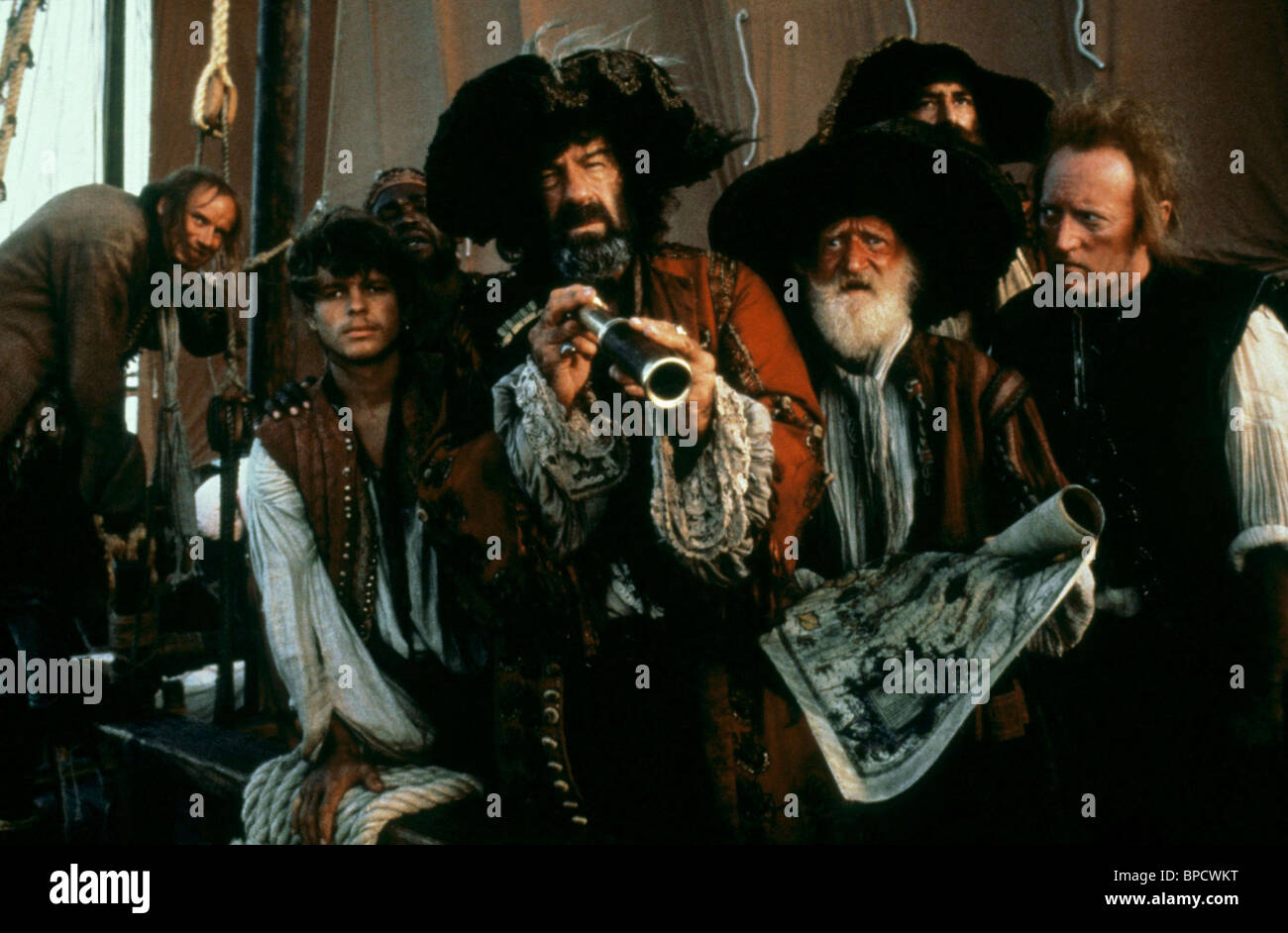 WALTER MATTHAU PIRATES (1986) - Stock Image
