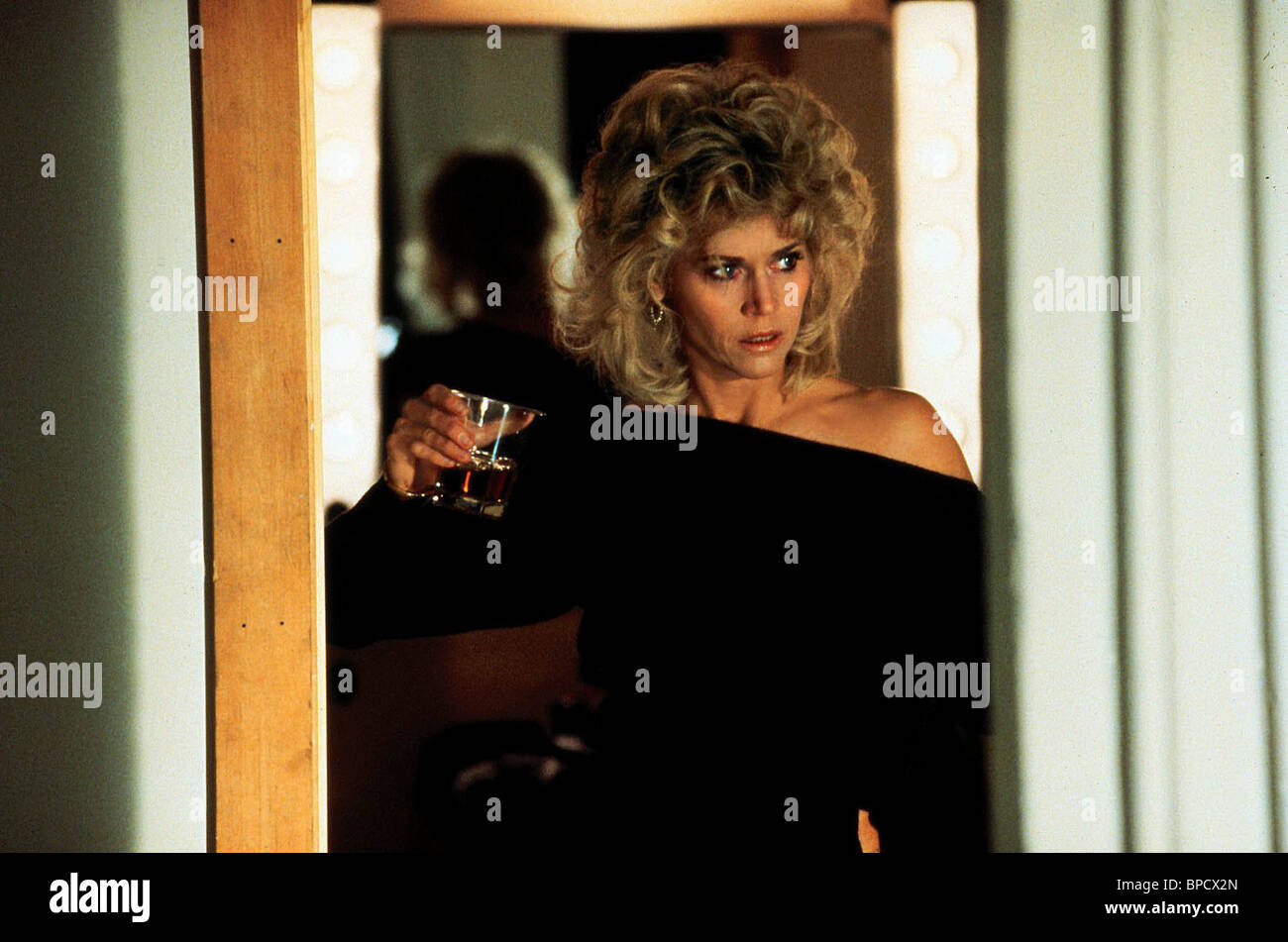 JANE FONDA THE MORNING AFTER (1986) - Stock Image
