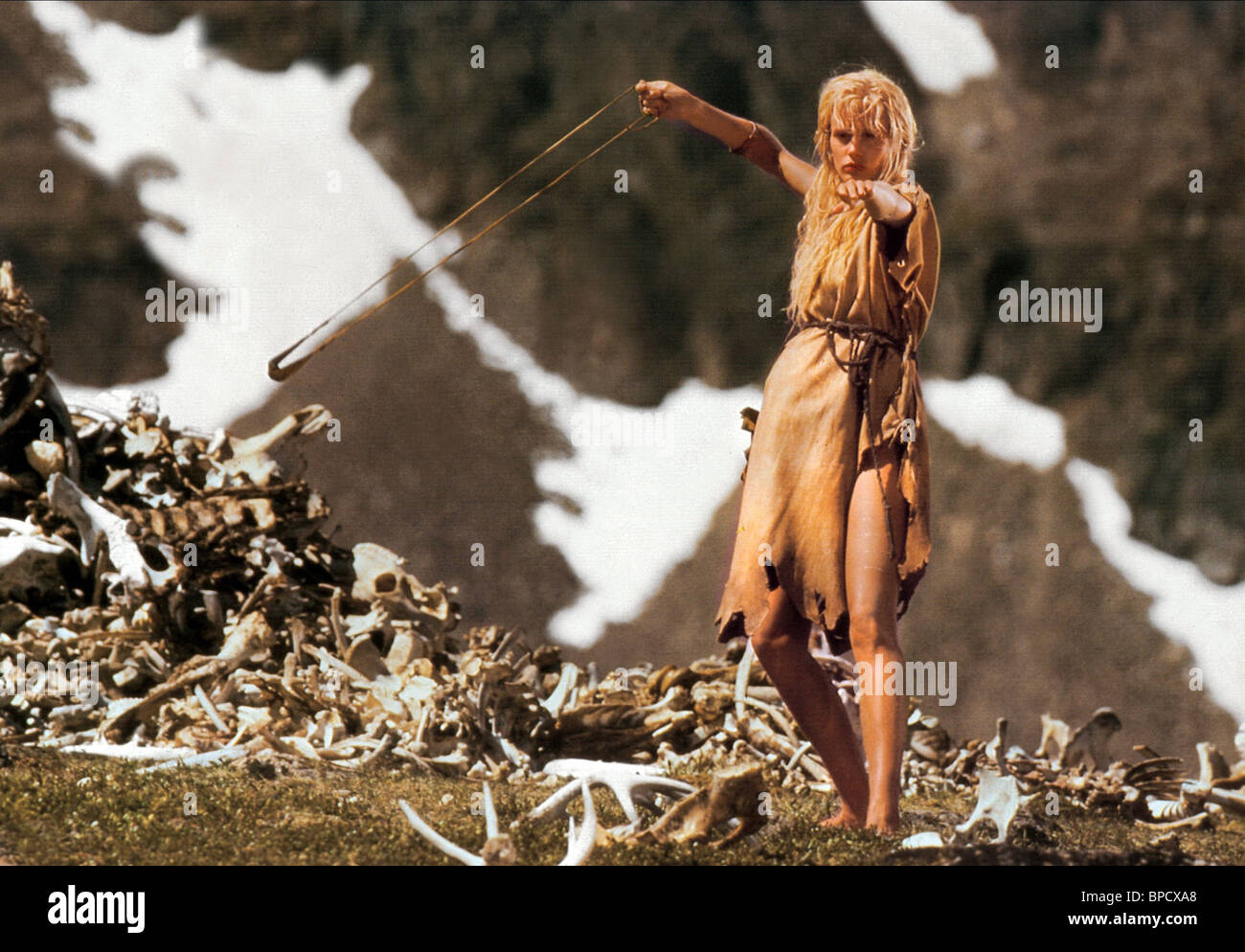 Daryl Hannah The Clan Of The Cave Bear 1986 Stock Photo 31016896