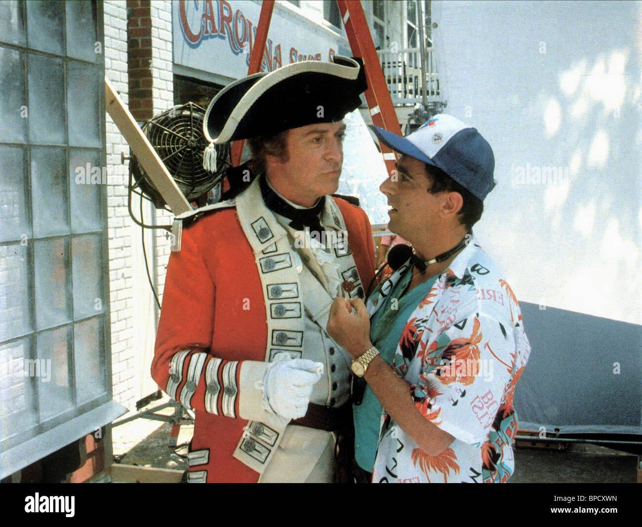 MICHAEL CAINE, SAUL RUBINEK, SWEET LIBERTY, 1986 Stock Photo