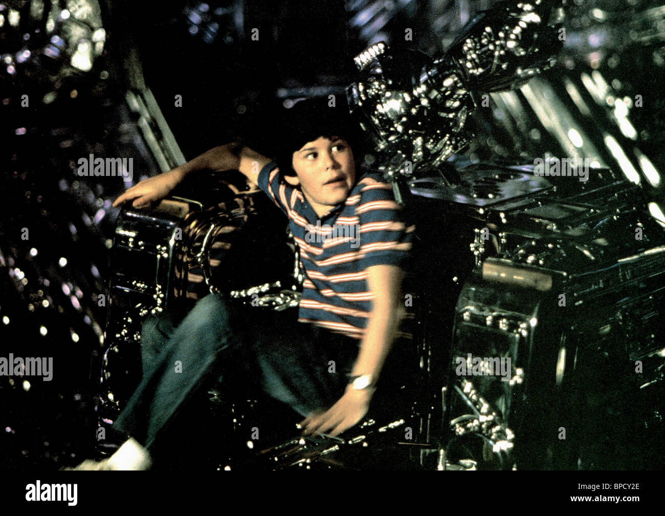 JOEY CRAMER FLIGHT OF THE NAVIGATOR (1986) - Stock Image