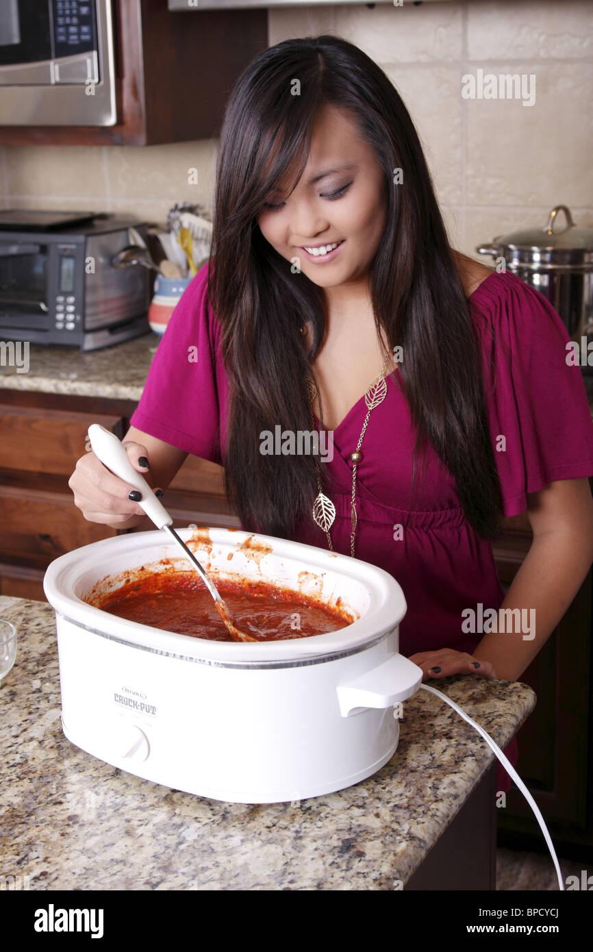Stirring A Stew Stock Photos Amp Stirring A Stew Stock