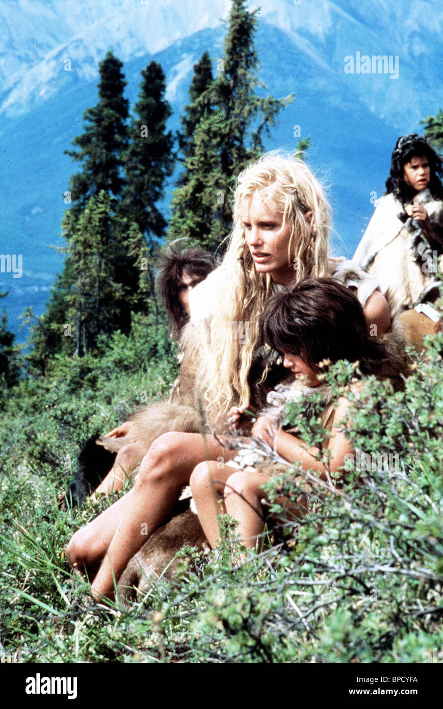 Daryl Hannah The Clan Of The Cave Bear 1986 Stock Photo 31017822