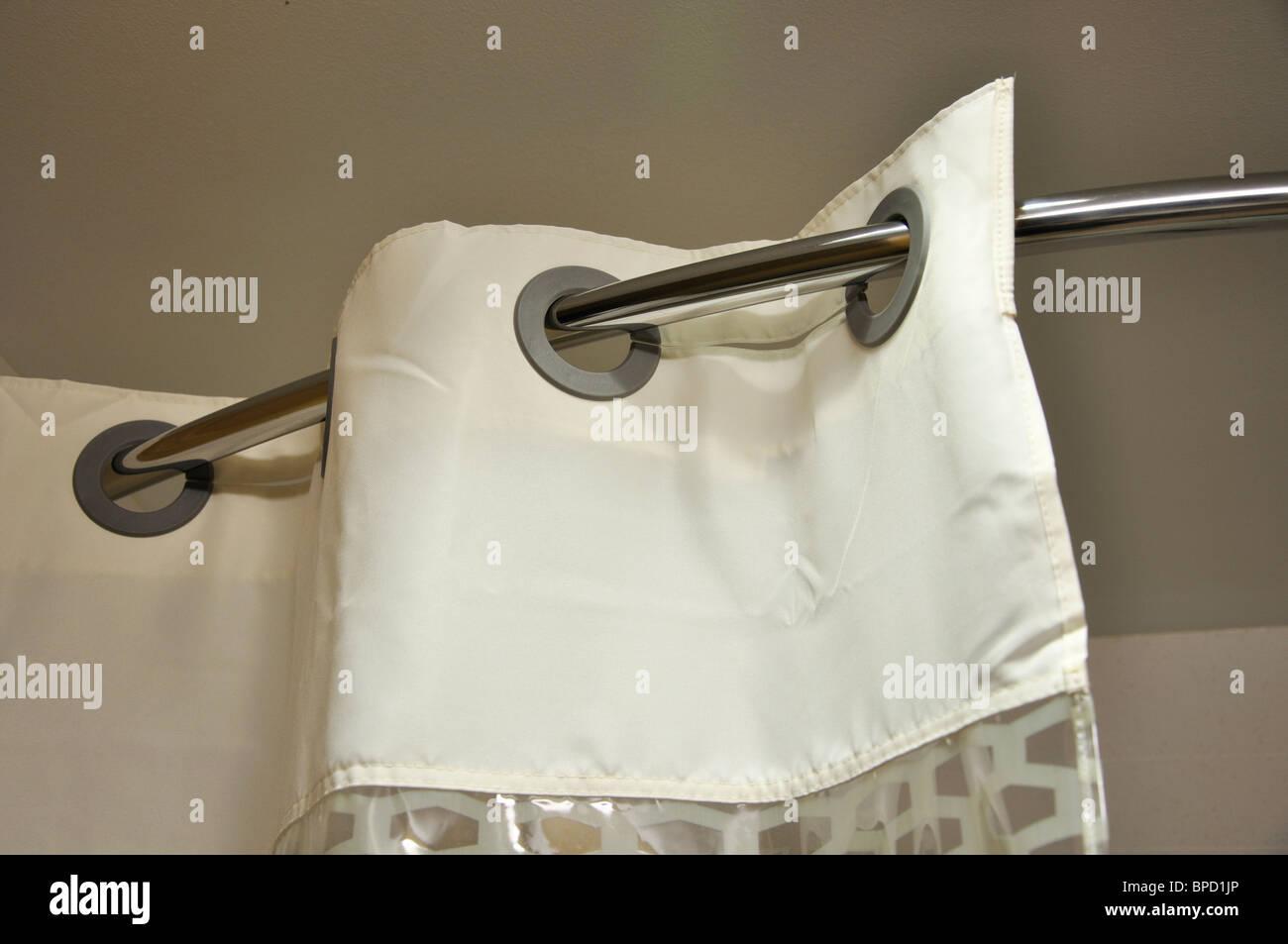 Hampton Inn Hotel Bathroom Shower Curtain
