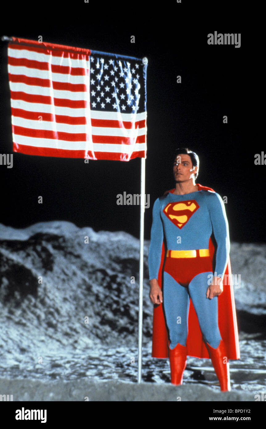 CHRISTOPHER REEVE SUPERMAN IV: THE QUEST FOR PEACE (1987) - Stock Image