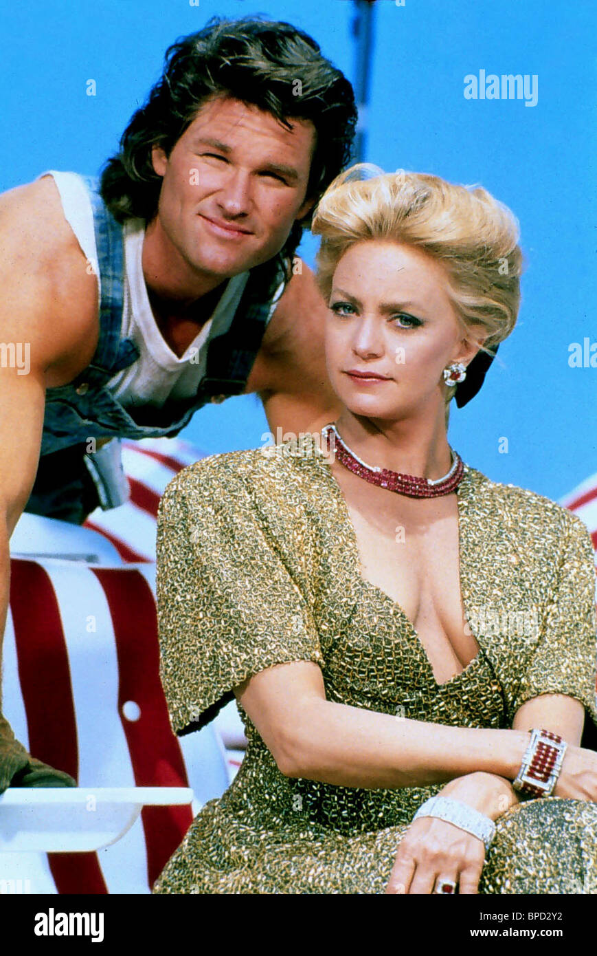 Kurt Russell Goldie Hawn Overboard 1987 Stock Photo Alamy