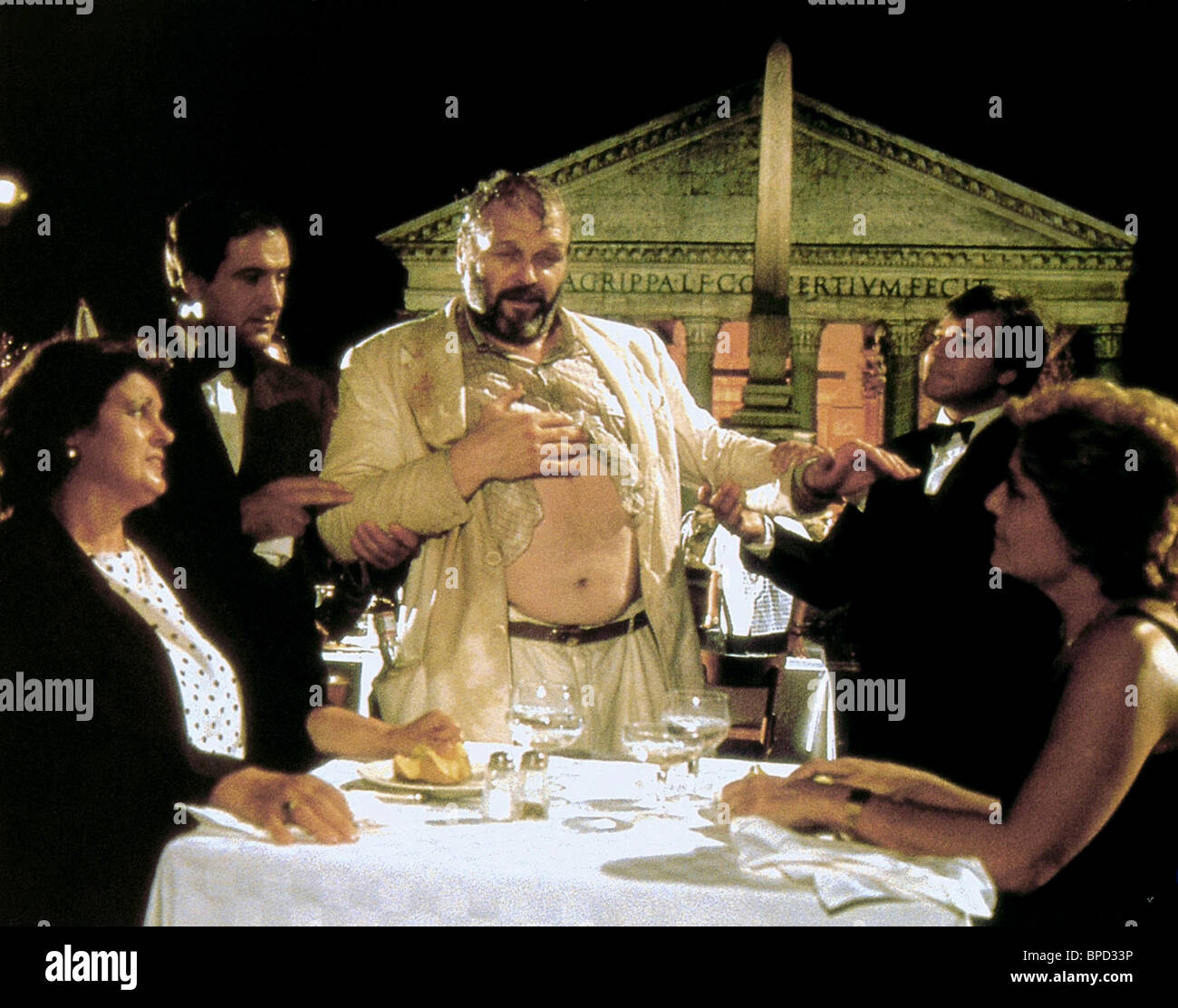 Brian Dennehy The Belly Of An Architect 1987 Stock Photo Alamy