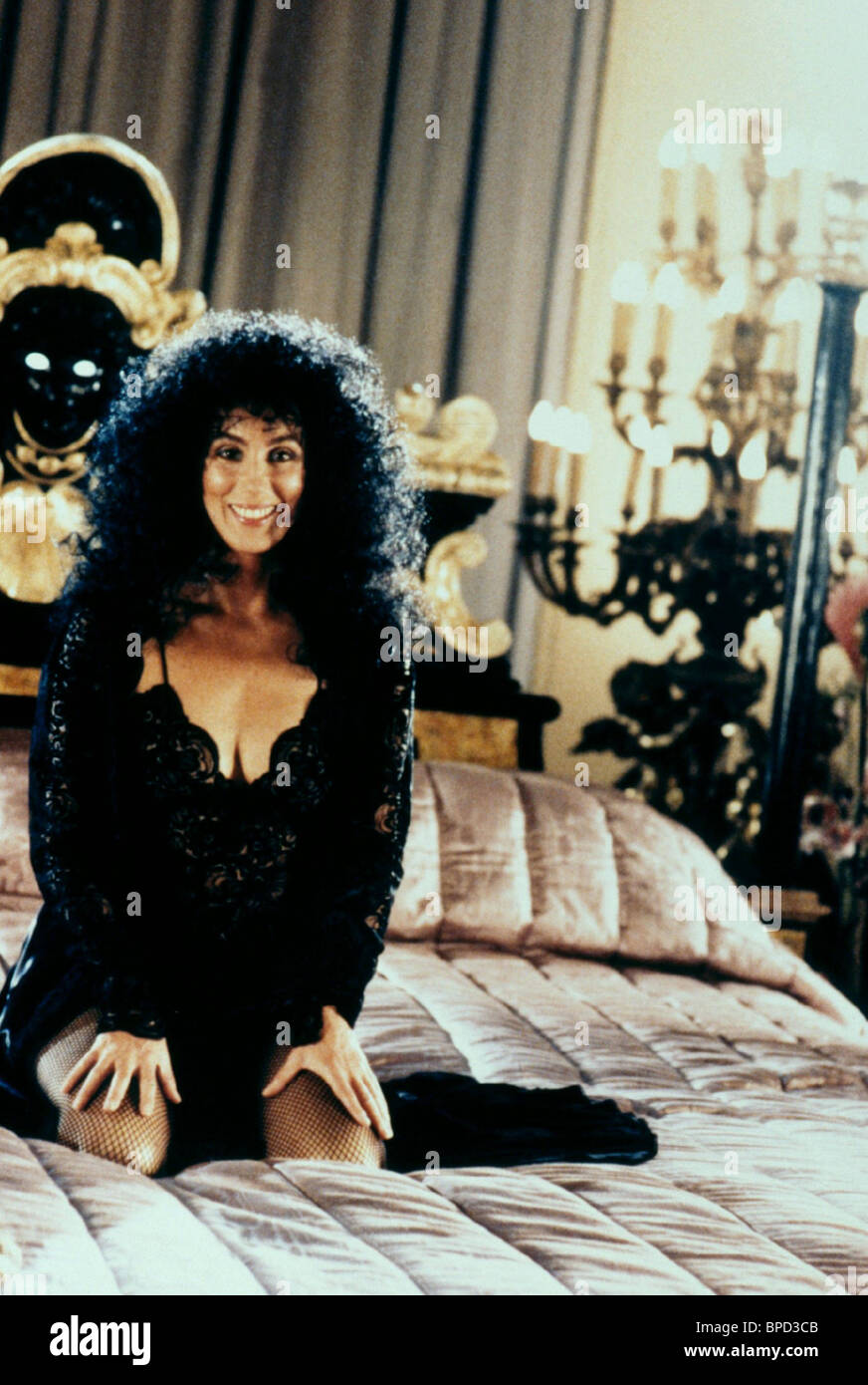 CHER THE WITCHES OF EASTWICK (1987) - Stock Image