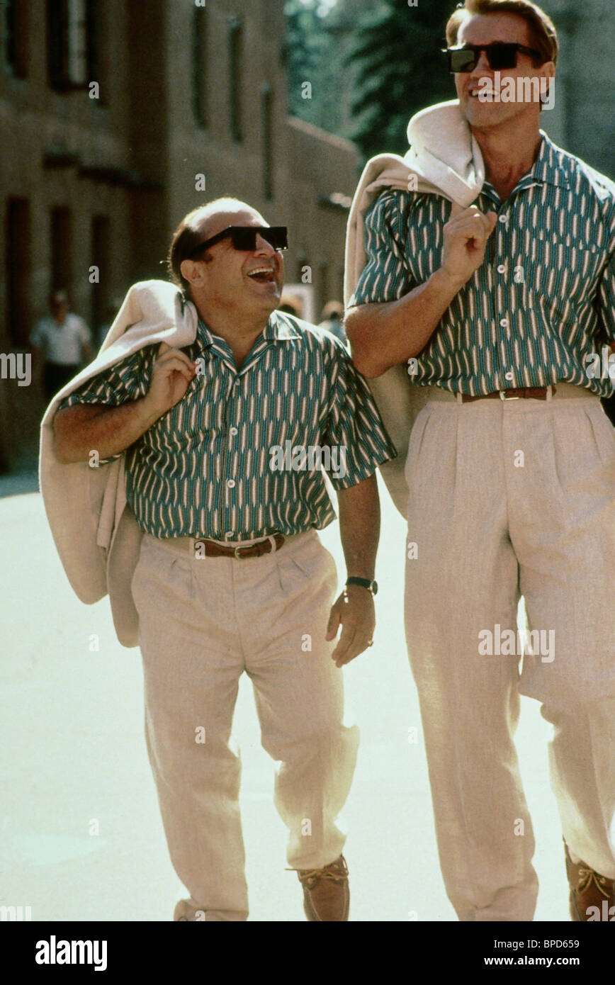 Danny Devito Arnold Schwarzenegger Twins 1988 Stock Photo Alamy
