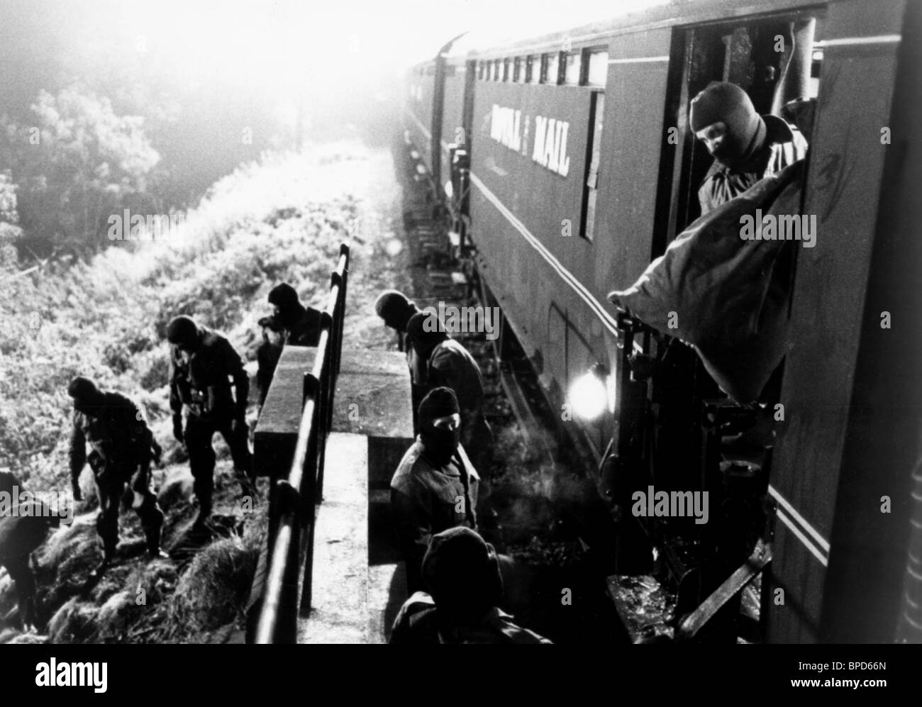 the great train robbery black and white stock photos images alamy