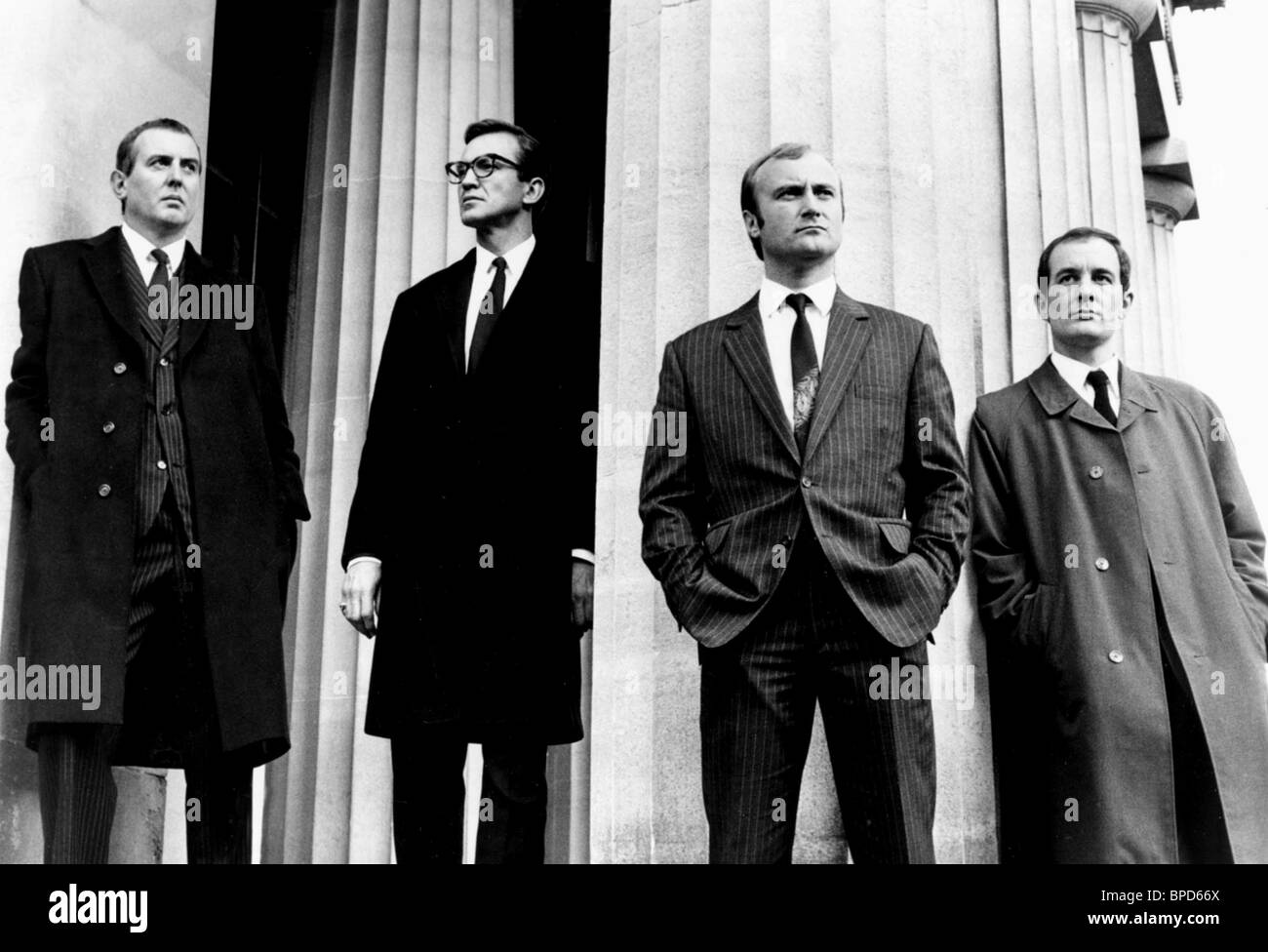 MICHAEL ATTWELL LARRY LAMB PHIL COLLINS & RALPH BROWN BUSTER (1988) - Stock Image