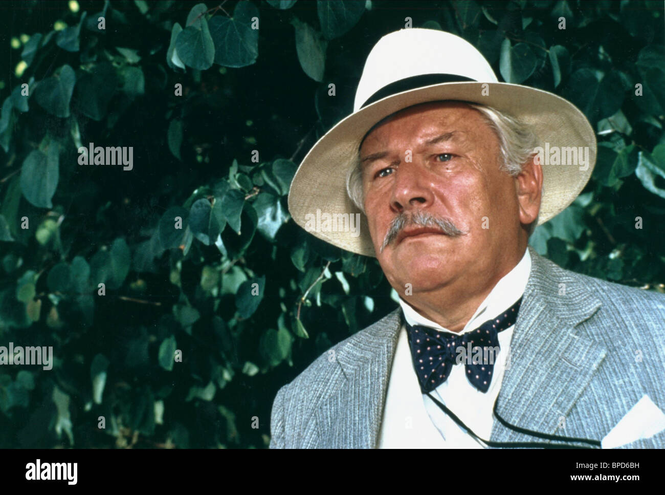 Peter Ustinov Appointment Death 1988 Stock Photos and Images