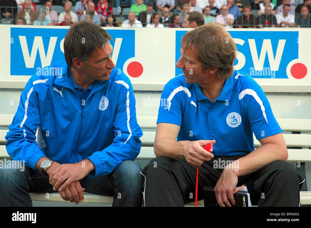 D-Wuppertal, Wupper, Bergisches Land, North Rhine-Westphalia, sports, football, Regionalliga West, 2010/2011, Wuppertaler - Stock Image