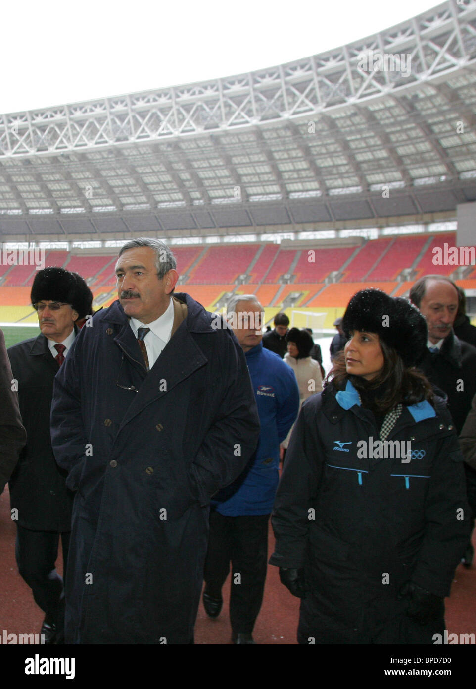 IAAF Evaluation Commission visits Moscow - Stock Image