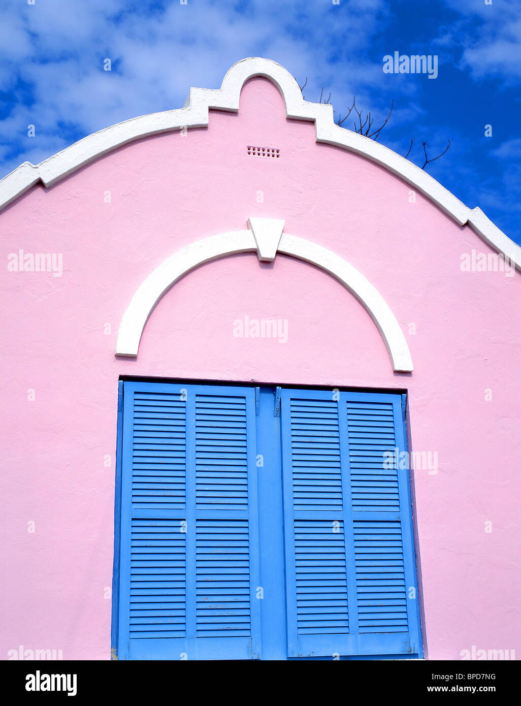 Pastel Colors Of Houses Stock Photos & Pastel Colors Of Houses Stock ...