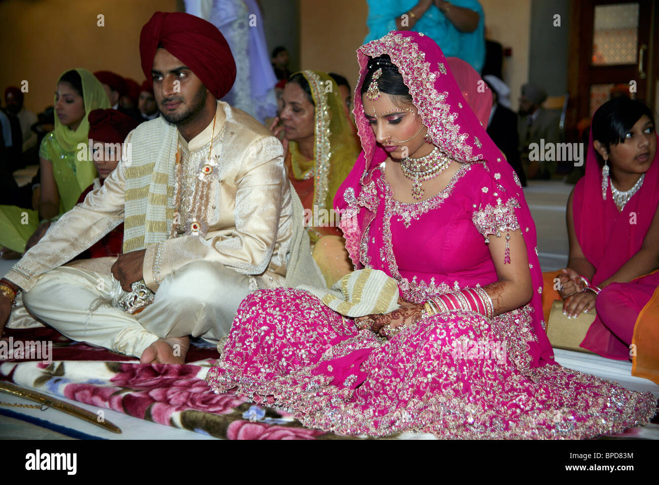 Sikh Wedding Stock Photos & Sikh Wedding Stock Images - Alamy