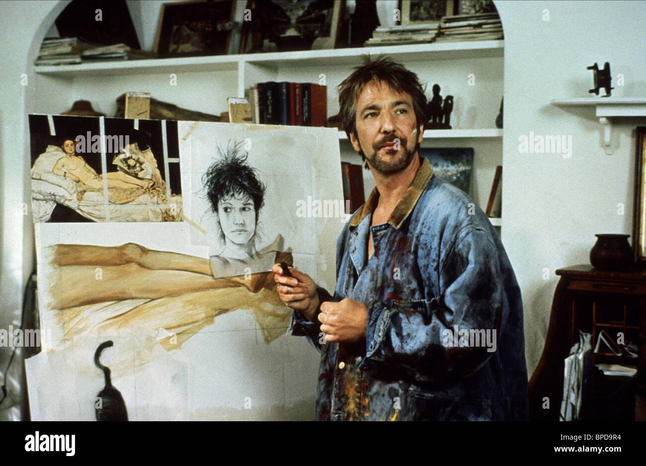 ALAN RICKMAN THE JANUARY MAN (1989) - Stock Image