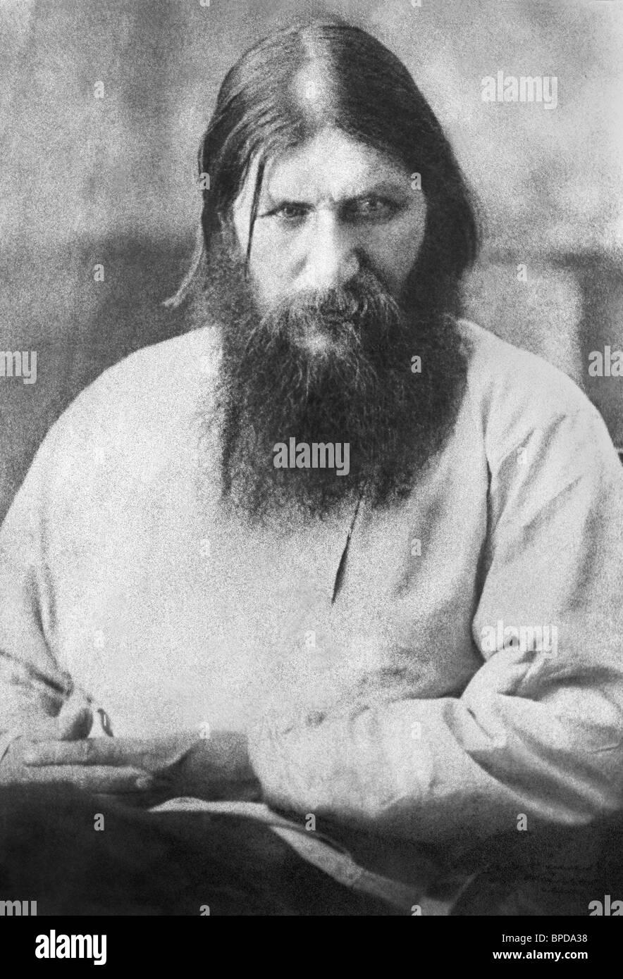 Grigory Rasputin, 1910 - Stock Image