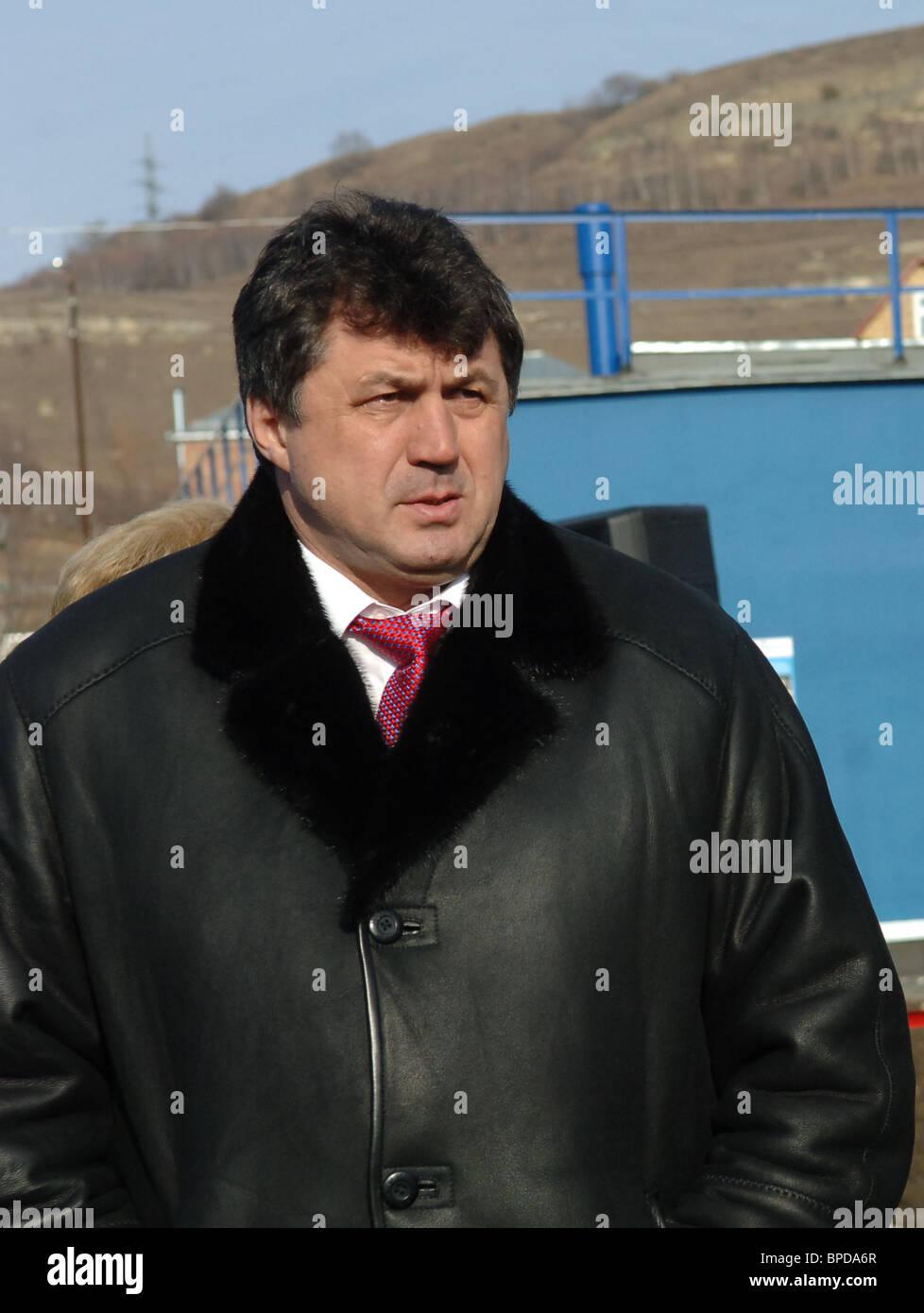 Stavropol region governor prepared to resign - Stock Image