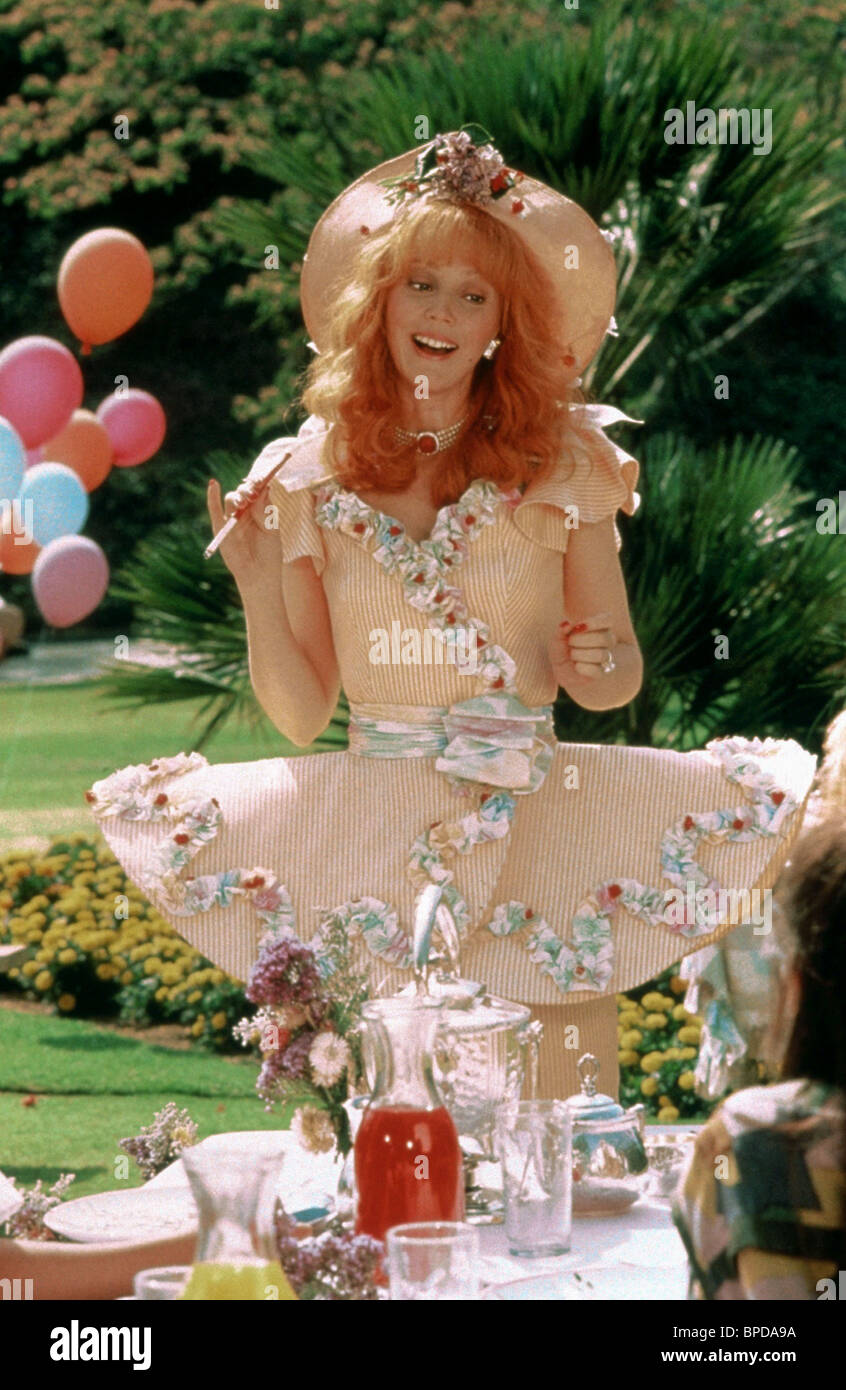 SHELLEY LONG TROOP BEVERLY HILLS (1989) - Stock Image